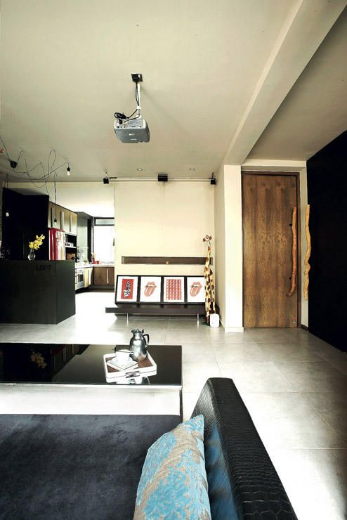 3-room HDB homes can look irresistible too! | Singapore, Room and Wood doors