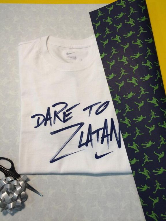 Zlatan Ibrahimović sends 'Dare to Zlatan' T-shirt as birthday gift for Cristiano Ronaldo