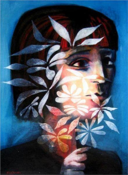 Ghost Flower - Blackman Charles - WikiArt.org