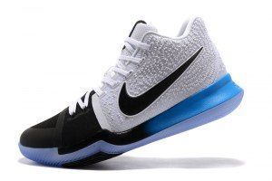 f0d6c65685d99b Mens Nike Kyrie Irving 3 Black Blue Gradient White Basketball Shoes ...