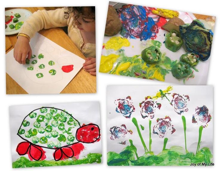 Design Vegetable Garden Painting Custom Inspiration Design