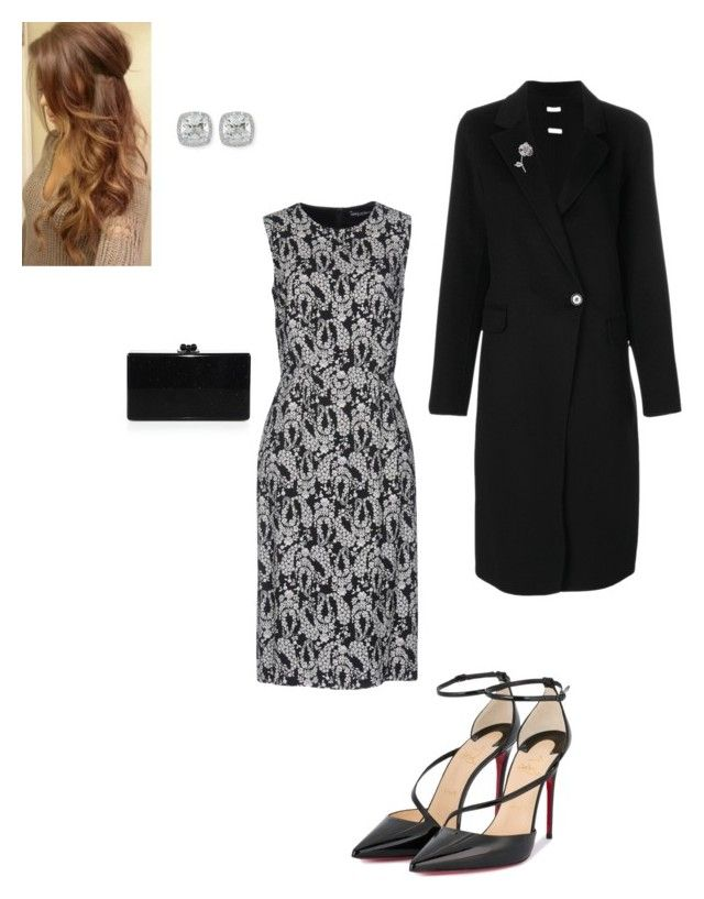 """""""Evening"""" by cgraham1 on Polyvore featuring Dolce&Gabbana, Christian Louboutin, Frederic Sage, Edie Parker and P.A.R.O.S.H."""