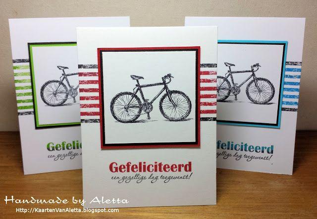Handmade by Aletta: Gefeliciteerd, een gezellige dag toegewenst