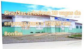 NONATO NOTÍCIAS: Vagas de emprego para o Hospital Regional de Senho...