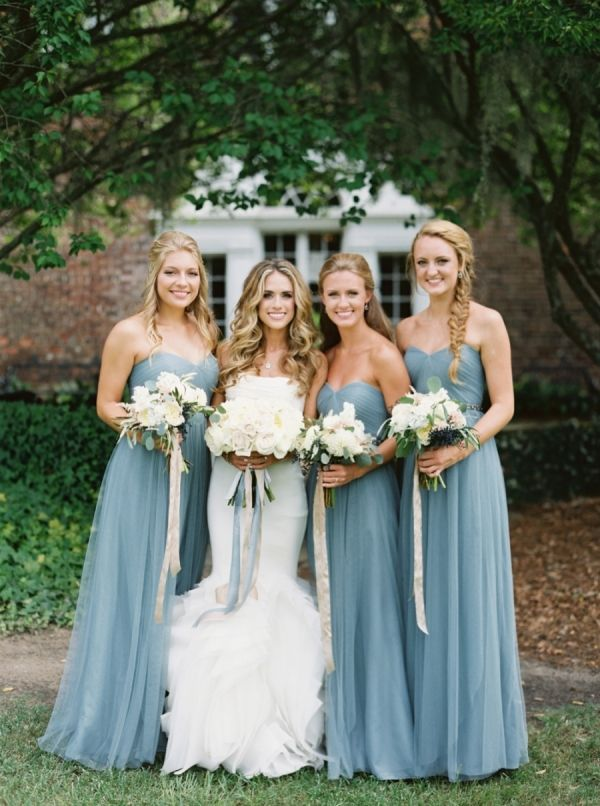 Annabelle Dresses in Mayan Blue by Jenny Yoo