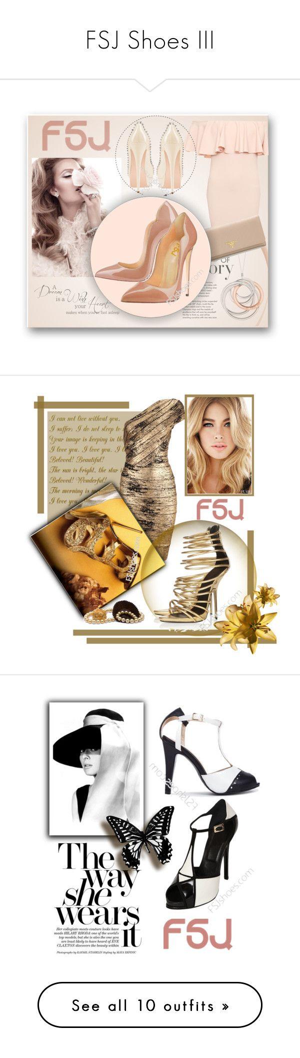 """FSJ Shoes III"" by zeljanadusanic ❤ liked on Polyvore featuring fsjshoes, fsj, St. John, Tiffany & Co., WearAll, Prada, Adrianna Papell, Nicolas Jebran, STELLA McCARTNEY and Paperself"