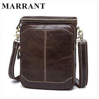 MARRANT Hot Sale Male Bags 100% Genuine Leather Men Bags Messenger Crossbody Shoulder Bag Mens Casual Travel Bag For Man 8003 (32351587467)  SEE MORE  #SuperDeals
