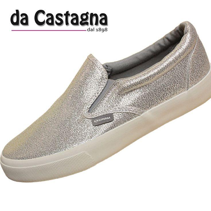 superga 2730 lamè . la slip on di casa superga la trovate qui http://www.abbigliamentodacastagna.it/prodotti/scarpa-donna/superga-2311-lamew-silver/