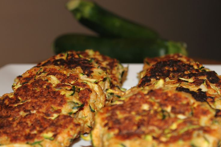Healthy Recipes: Zucchini Cakes