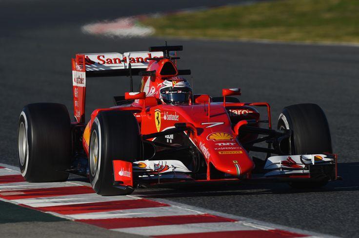 2015 Ferrari SF15-T (Kimi Räikkönen)