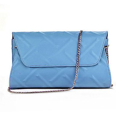 Women PU Sling Bag Shoulder Bag - Purple / Blue / Yellow / Black 4801763 2016 – €27.43