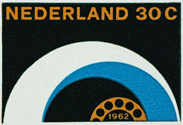 Stamp, 1962. Otto Treuman