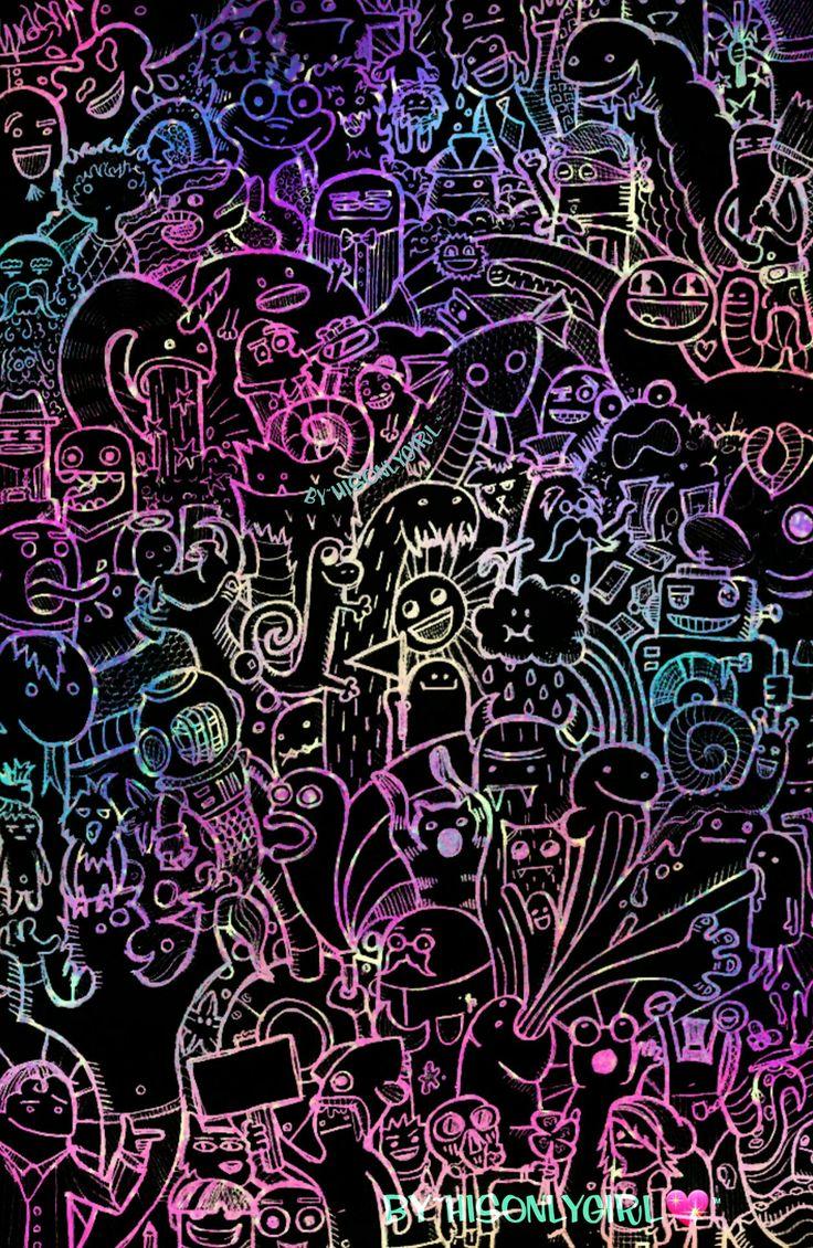 """""""Cosmic fun"""" galaxy wallpaper I created!"""