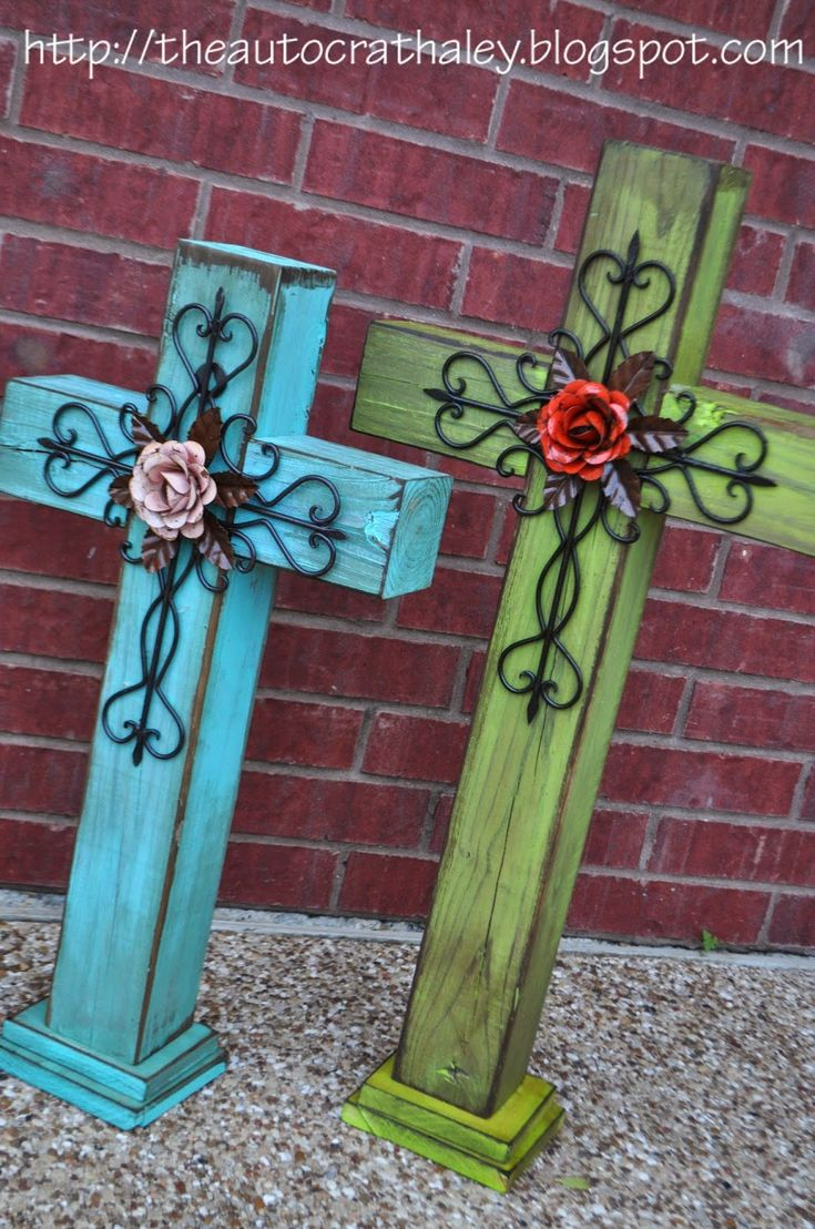 Best 25 wooden cross crafts ideas on pinterest cross for Craft paint for metal