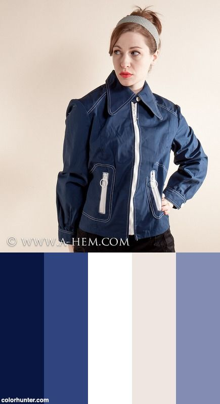 Nos 60s White Stag Jacket Color Scheme