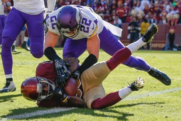 Vikings Wrestle the Redskins