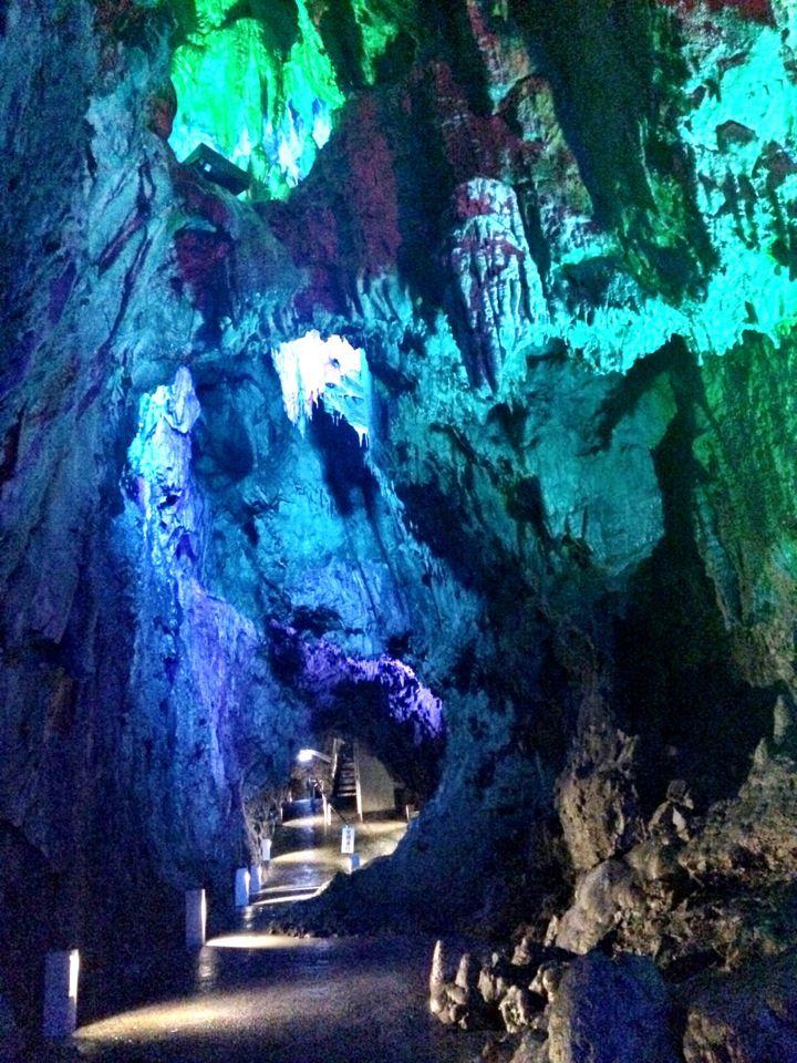 龍泉洞 in 岩手県