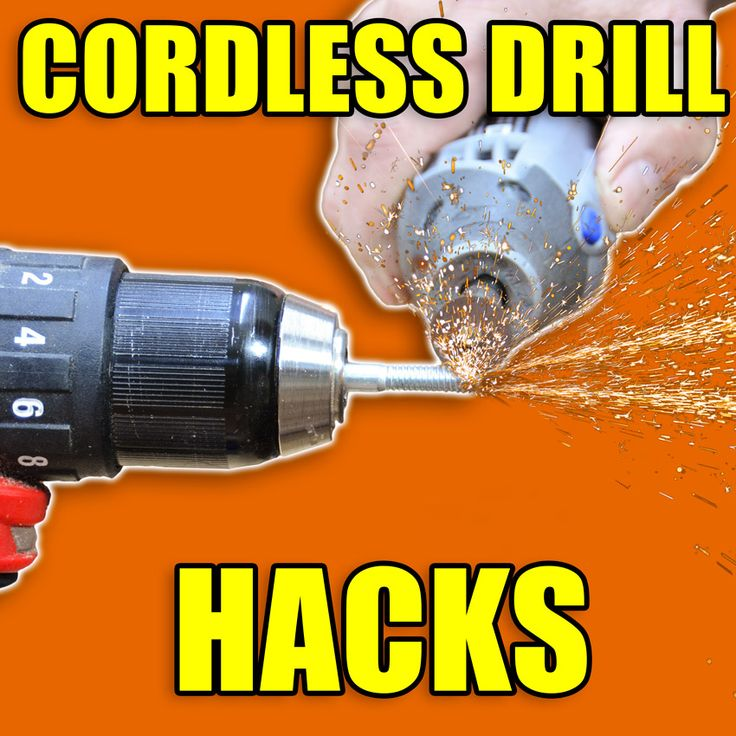 5 Quick Cordless Drill Tips and Tricks! #woodworking #tools #hacks