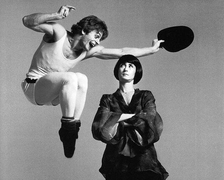 Mikhail Baryshnikov and Twyla Tharp by Richard Avedon