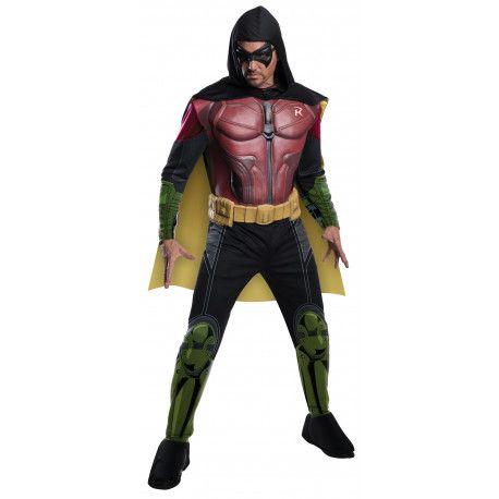 Disfraz de Robin Arkham City Premium #Costume #DC #Comics #Batman #Robin