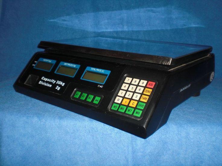 Batteriebetribene Waage ACS Preis-Computing Scale 30 kg/2 gr