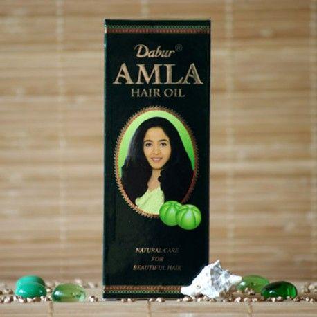Olejek do włosów z wyciągiem z owoców Dabur Amla 200ml.  Nadaje włosom sprężystość, połysk i zdrowy wygląd. Łagodzi stany zapalne, pobudza wzrost zdrowych włosów.