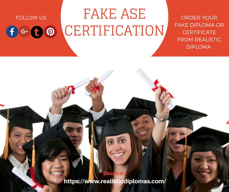 26 best Fake ase certificate | Print your own diploma images on ...