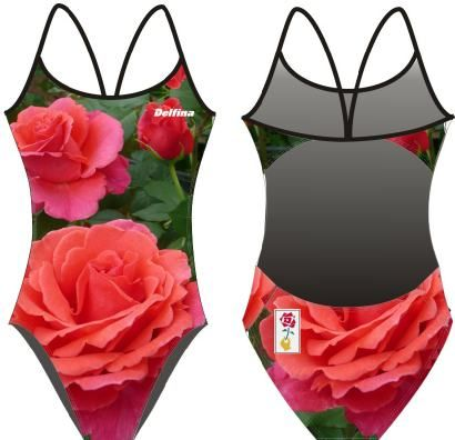 """Alexander's Issie""was named by fashion designer Alexander McQueen in memory of his best friend and mentor, Isabella Blow.     The rose was specially selected by the British fashion designer Alexander McQueen , before his untimely death, to honour his mentor, the late Isabella Blow.  Swimsuits available in Openback and Kneesuit and Beach Towel"