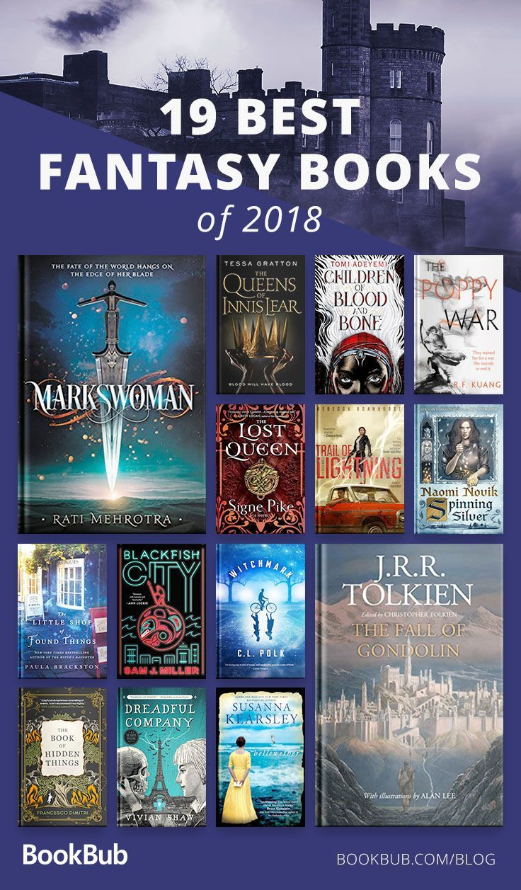 Best Fantasy Books Of 2019 19 of the Best Fantasy Books of 2018 | Young Adult Books | Books