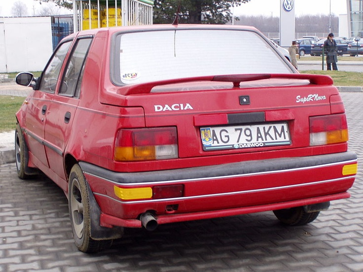Dacia Nova 1994-2000 #Dacia #Car #Retro