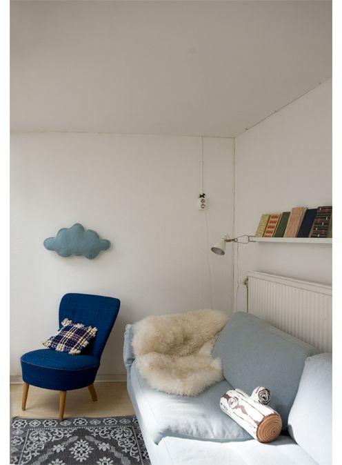 quiet placeClouds Pillows, Decor Ideas, Diy Gift, Elisabeth Dunkers, Clouds Diy, Ideas Diy, Clouds Forthehom, Diy Decor, Interiors Decor