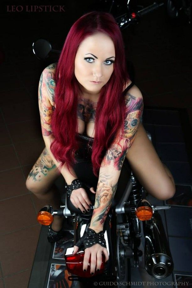 1000 images about tattoos on pinterest for Biker chick tattoos