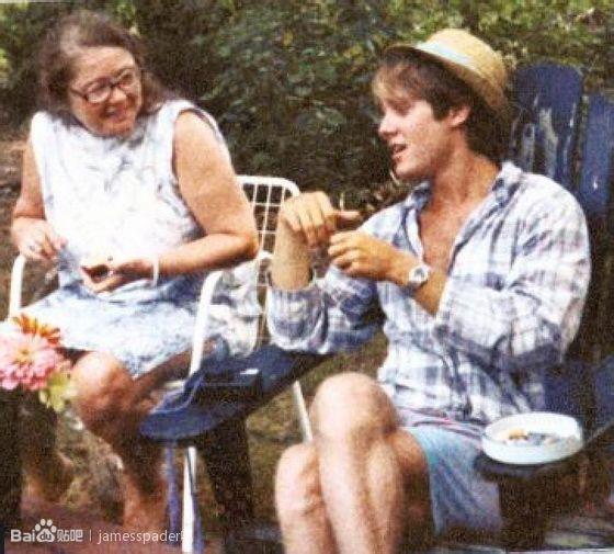 James Spader & his mother