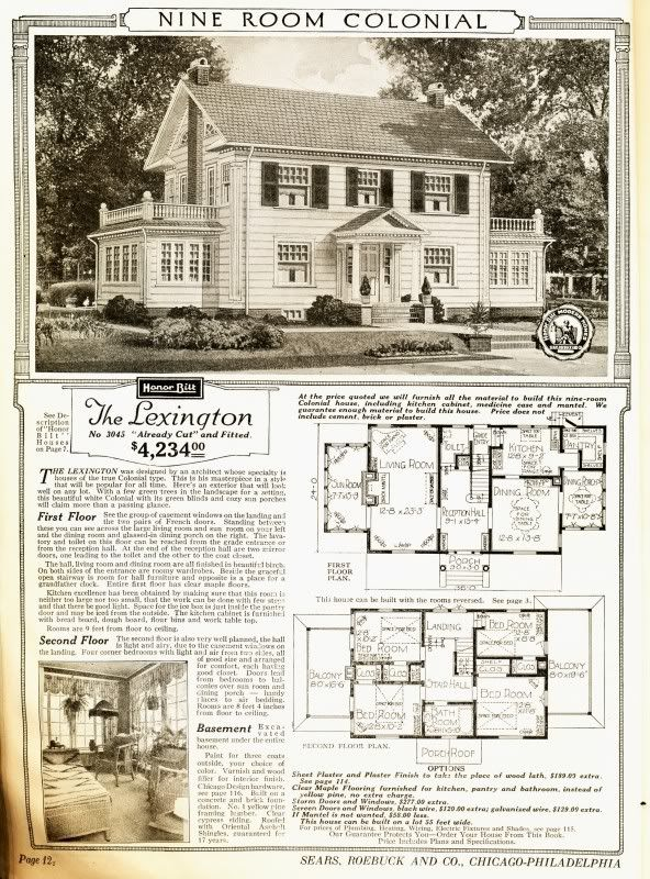 Ordering A House From The Sear S Catalogue Can You