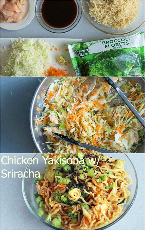 Ricetta giapponese: Yakisoba di pollo