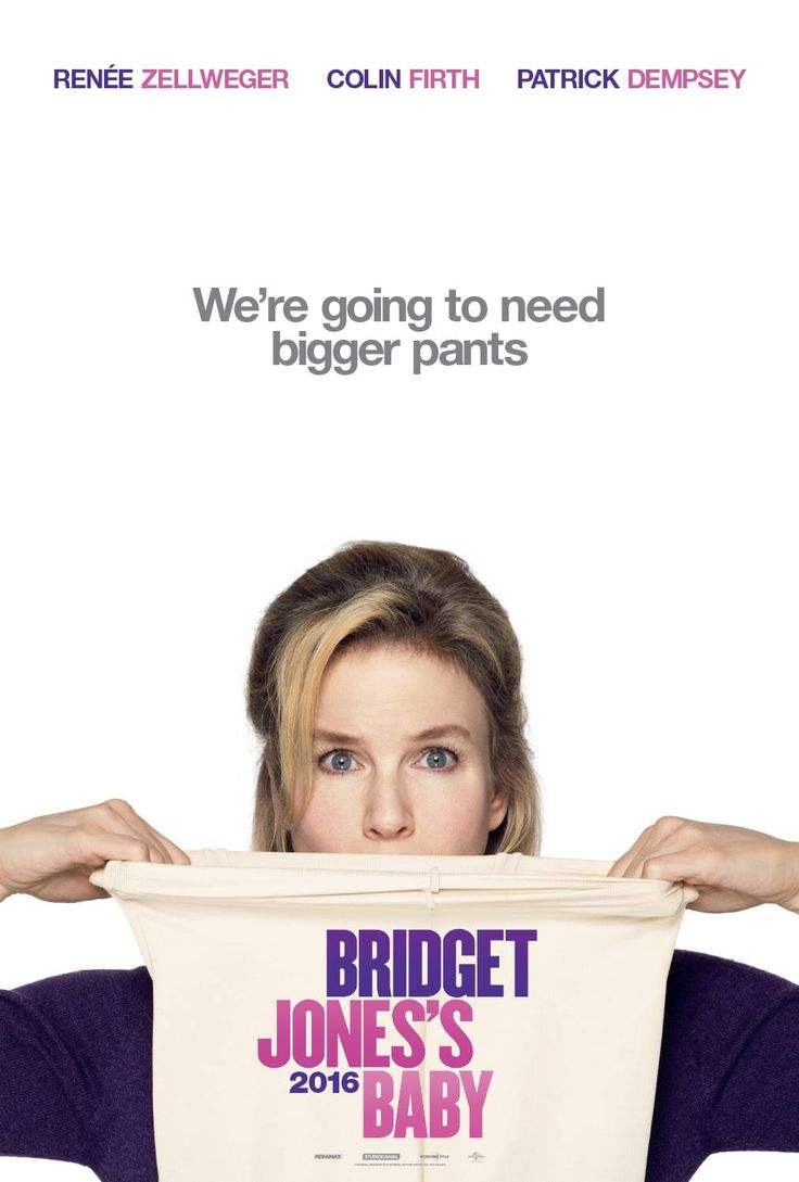 Bridget Jones's Baby (2016) - International Teaser Poster