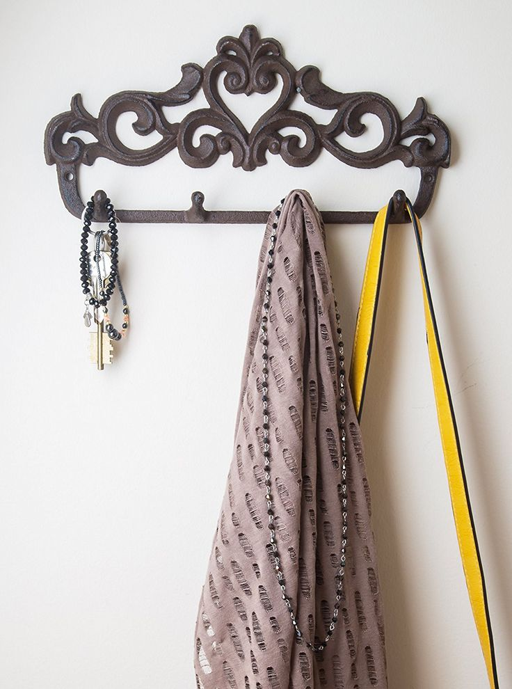 Wall Hangers For Clothes Awesome 32 Best Wall Hooks Images On Pinterest  Cast Iron Hooks And Wall 2018