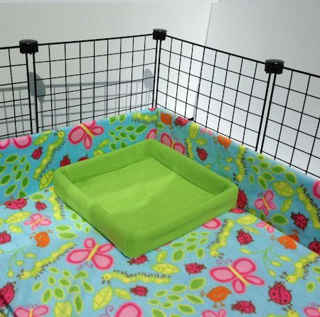 Litter Box System   PiggyBedSpreads.com – Fleece Cage Bedding Liners for Guinea Pig Cages, C&C Cages, Accessories   Bedding Made Better