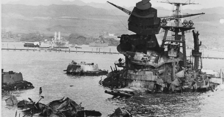 USS Arizona Rests At Pearl Harbor – The Life and Death Of A Noble Battleship In Pictures