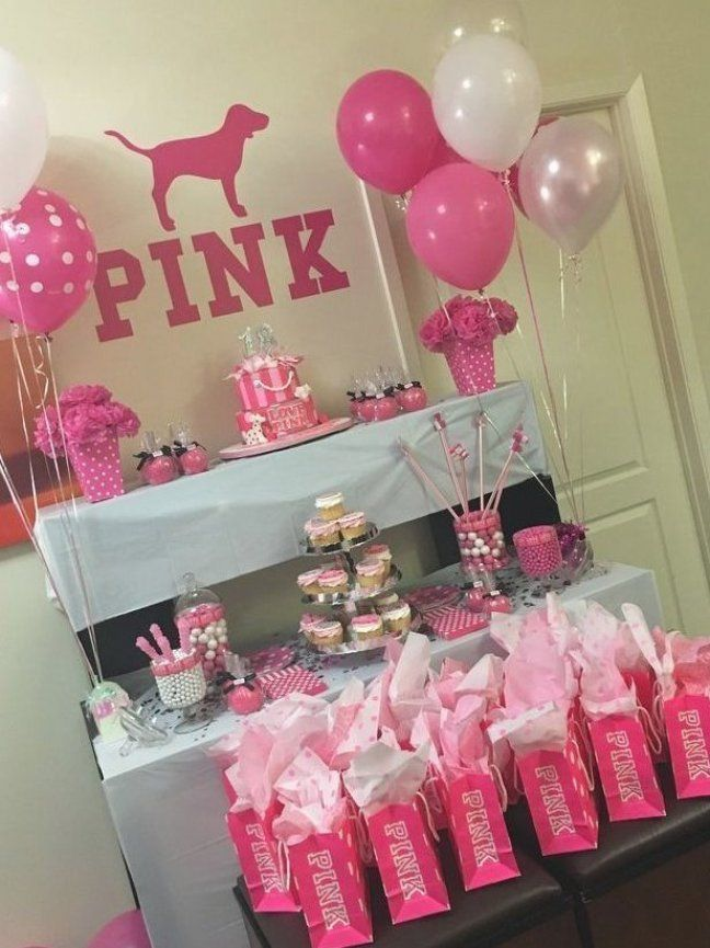 The Best 13 Year Old Birthday Party Ideas Home Inspiration And Ideas Diy Crafts Quot In 2020 Pink Birthday Party Decorations Pink Birthday Party Pink Party Theme