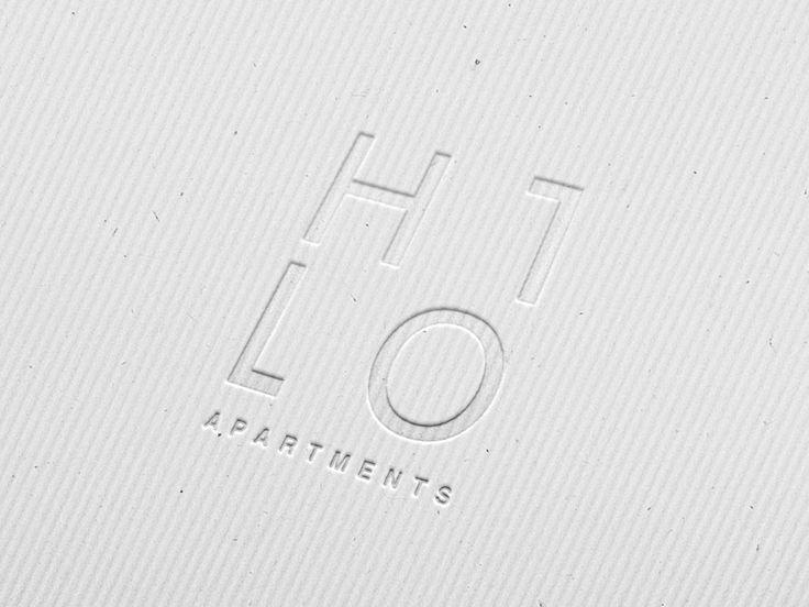 Przepis na Dizajn Logo Hilo Apartments 4