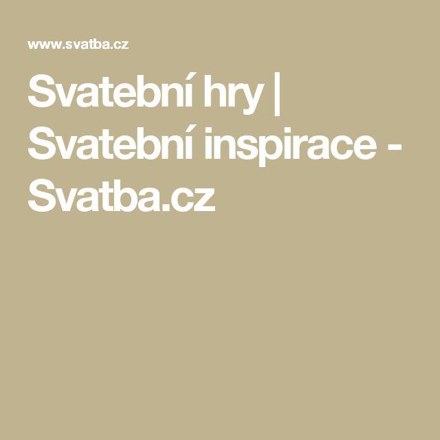 Svatební hry | Svatební inspirace - Svatba.cz