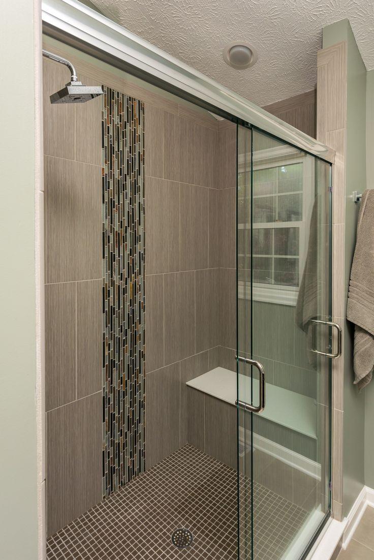 12 best bathroom vertical tile images on pinterest - Bathroom wall tile design patterns ...