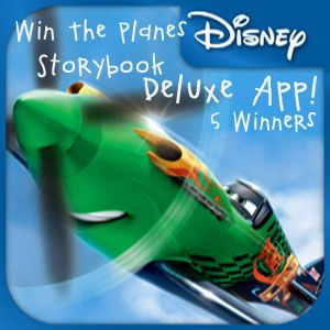 Disney's Planes App: Storybook Deluxe #Giveaway {5 Winners} | Ends 8.22.13 #DisneyPlanes