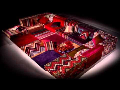 Canapé Composable Mah Jong Dream Sectional Floor Couch Reminds Me Of Co