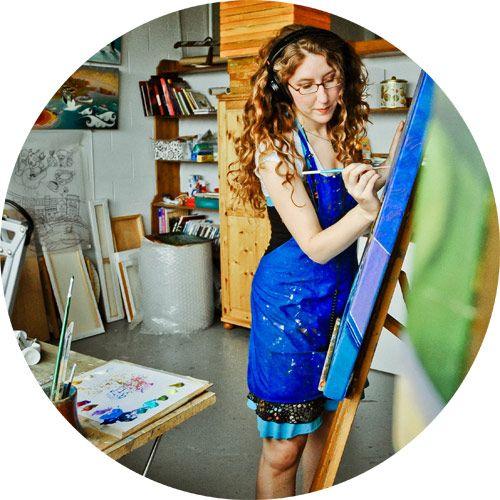 Bio - Mylène Henry : peintre et illustratrice. Atelier-galerie tout l'été à Percé
