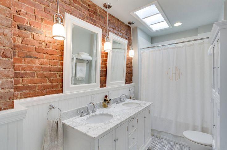 Декор стен в ванной комнате: 40 оригинальных идей на фото
