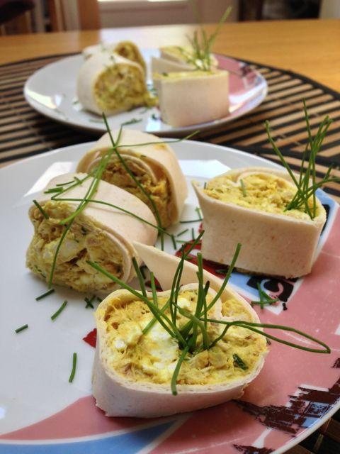 Wrap Thon Chèvre Curry | Tambouille & Délices