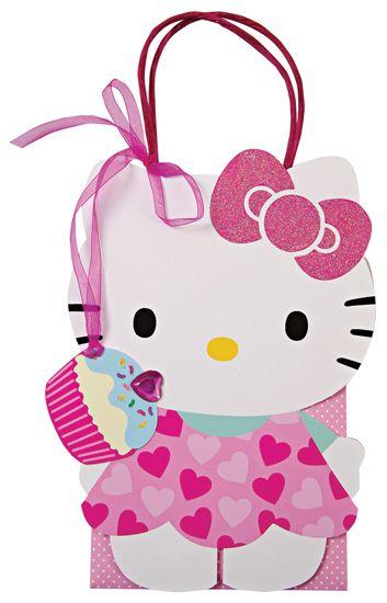 Hello Kitty Favor Bags.