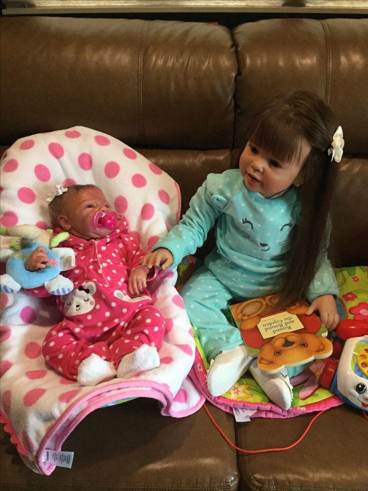 Emileigh And Skylar Reborn Reborn Dolls Reborn Toddler